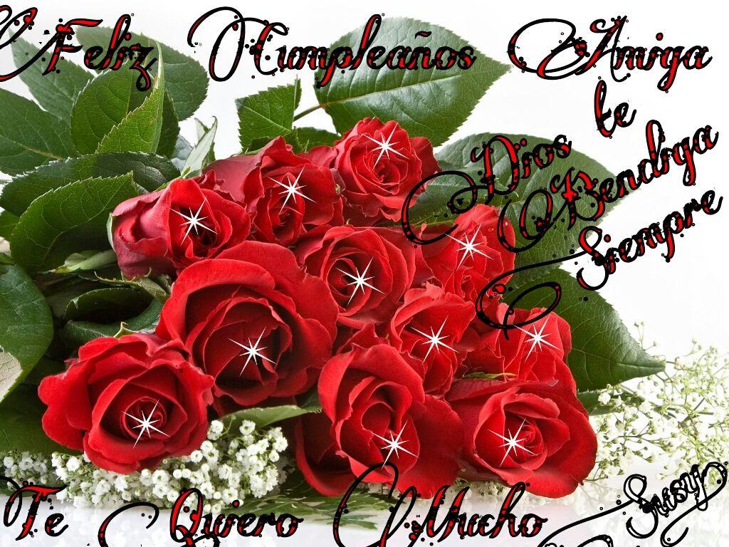 Imagenes De Cumpleaños De Flores En Hd Gratis Para Descargar 4 para WhatsApp en HD Proyectos