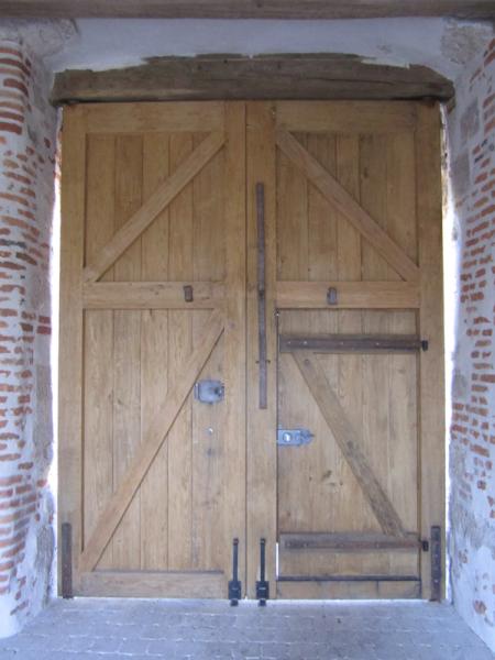Fabrication porte grange monuments historiques porte for Porte grange