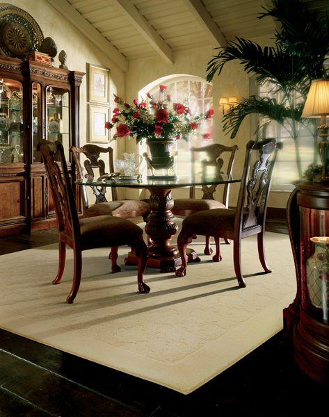 Dining Room Area Rugs Light Area Rug With Dark Wood Floors
