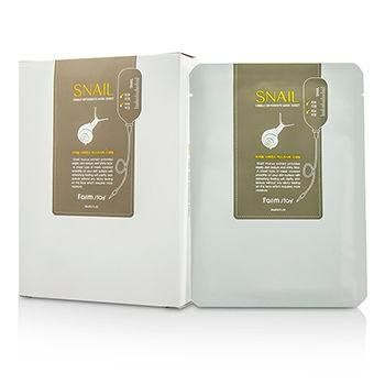 Farm Stay Visible Difference Natural Silk Mask Sheet - Snail 10pcsx23ml. Visible Difference Natural Silk Mask Sheet - Snail.