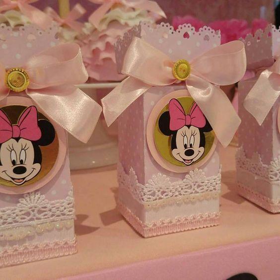 Fiesta tematica de minnie en rosa y dorado 18 for Decoracion de cumpleanos rosa y dorado