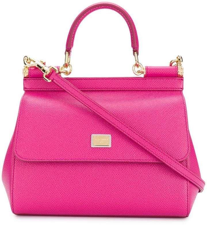 Photo of Dolce & Gabbana Small Sicily Shoulder Bag – Farfetch