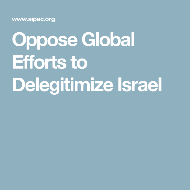 aipac delegitimization