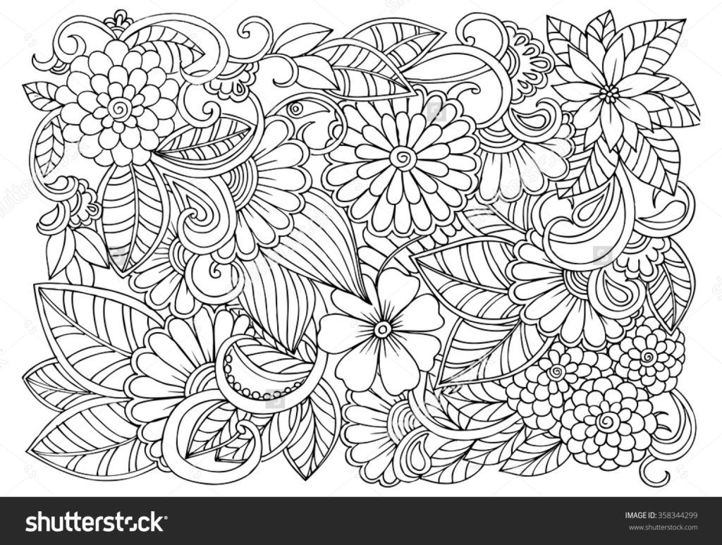 relaxing coloring pages # 3