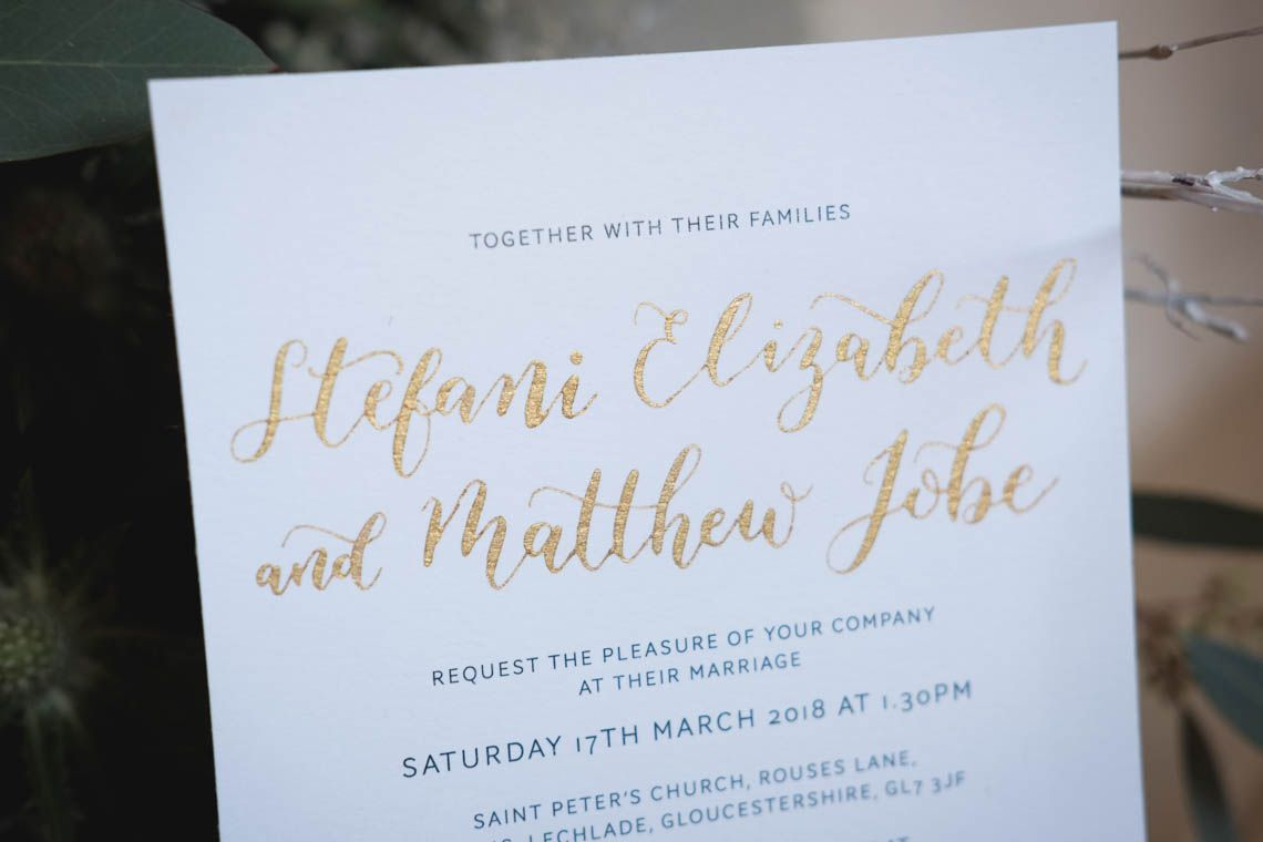 Wedding decorations tulle and lights october 2018 Watercolour invitation with gold calligraphy  Journey to the Centre