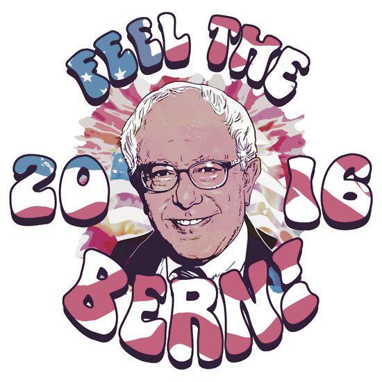 Bernie Sanders Will Make Anime Real Racerback Tank Tops ...  |Anime Betrayal Bernie Sanders