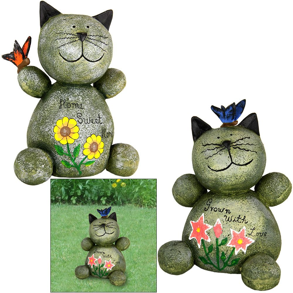 17 Best 1000 images about Cat Other Garden Statues on Pinterest