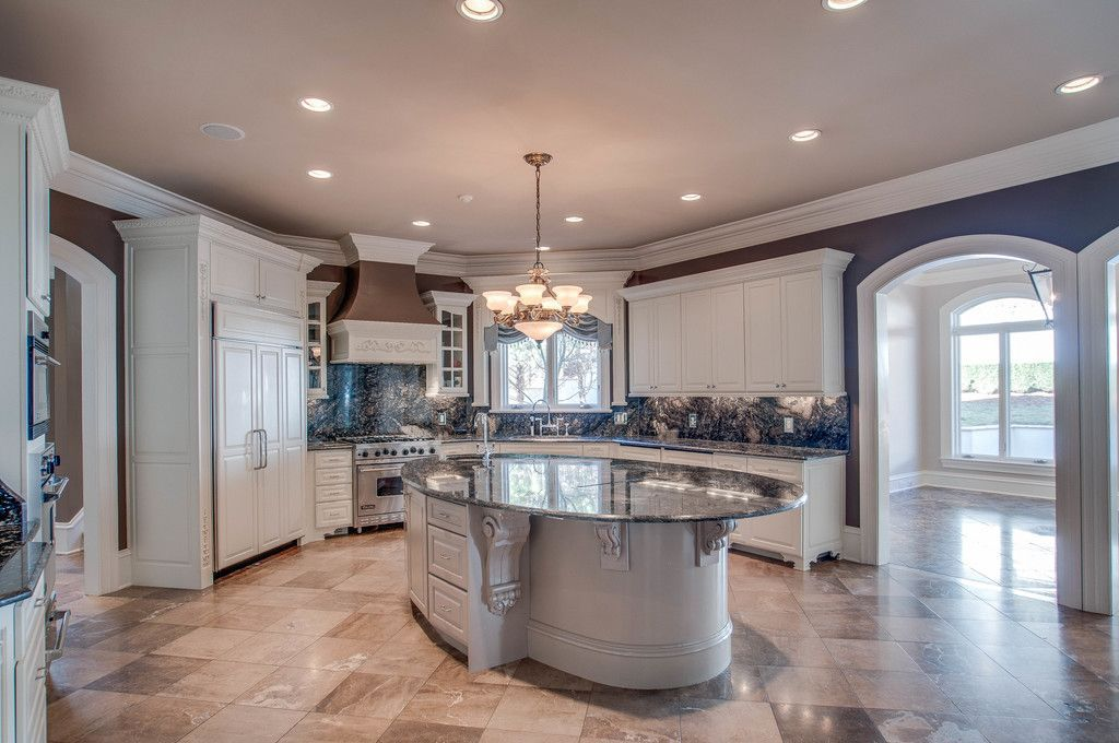 """Traditional Kitchen With High Ceiling 36"""" Dual Fuel Range  Vdr Captivating Kitchen Designs With High Ceilings Design Ideas"""
