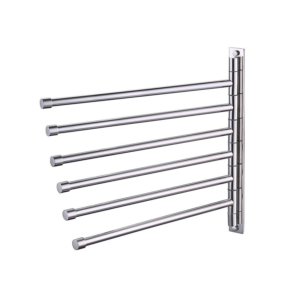 Kes Bath Towel Holder Swing Out Towel Bar Sus 304 Stainless Steel