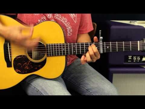 Eric Church Talladega Acoustic Guitar Lesson Easy Country Song