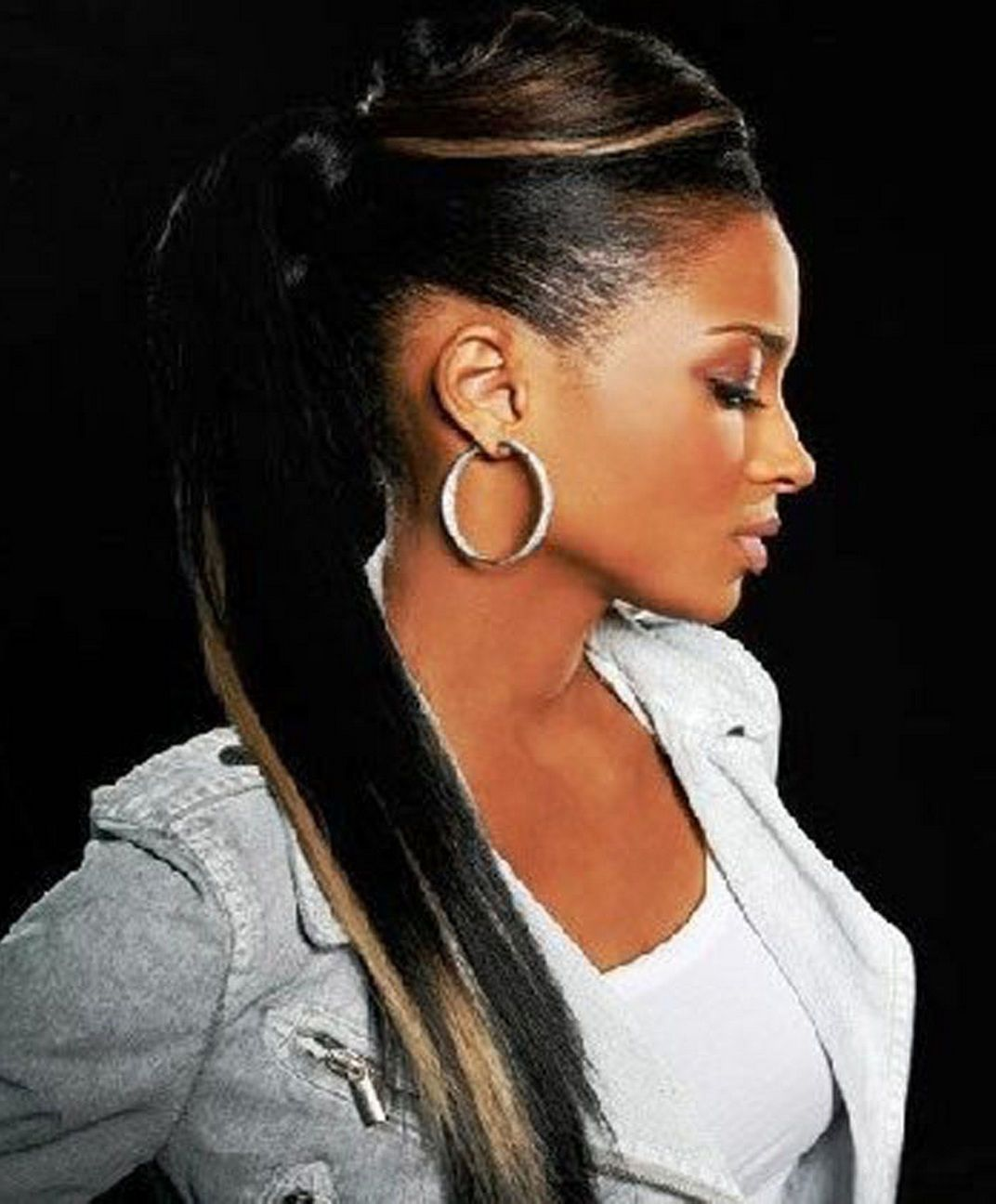 Black Ponytail Hairstyles image result for side ponytail black girl Cool African American Weave Ponytail Hairstylesjpg 1072