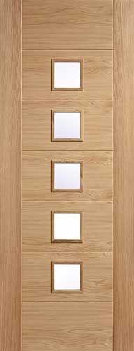 Oak Palermo Internal Door | Porte Interne | Doors, Internal doors e ...