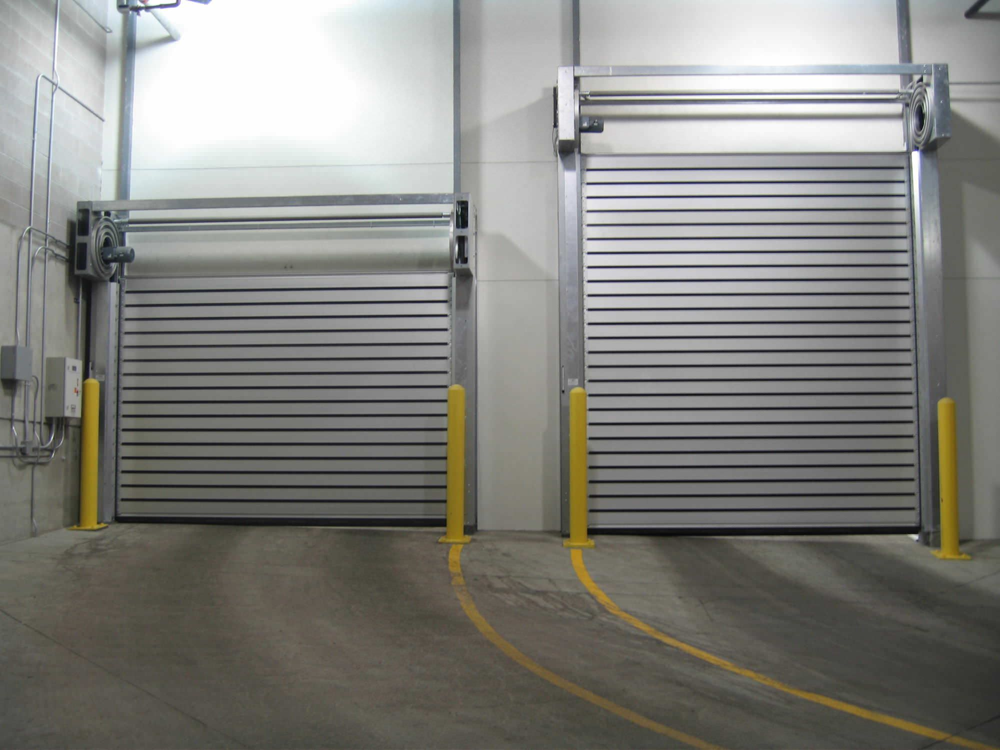 Industrial Chic Roll Up Doors Roll Up Doors Garage Door Types Doors