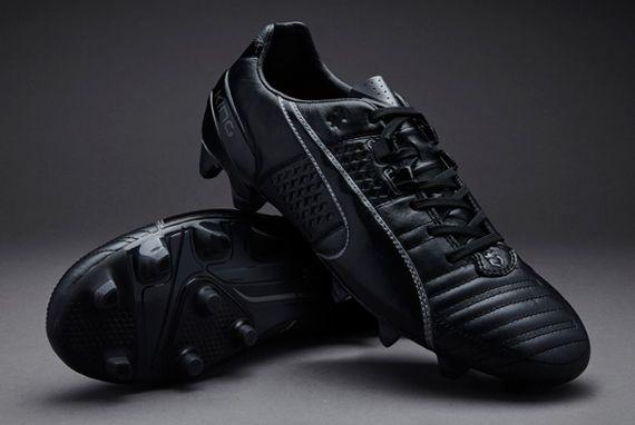 e158e8dbdb75 Puma King II FG - Black-Black-Aged Silver | Cleats | Puma football ...