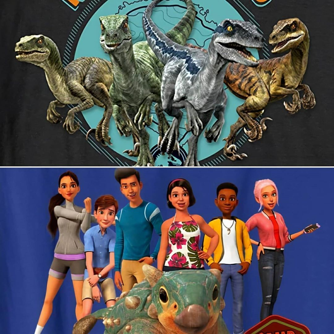 Jurassic Outpost On Instagram New Look At The Raptor Squad And Main Characters From Jurassic World Jurassic World Jurassic Park World Jurassic World Raptors Camp cretaceous is a lot like the movies: jurassic outpost on instagram new