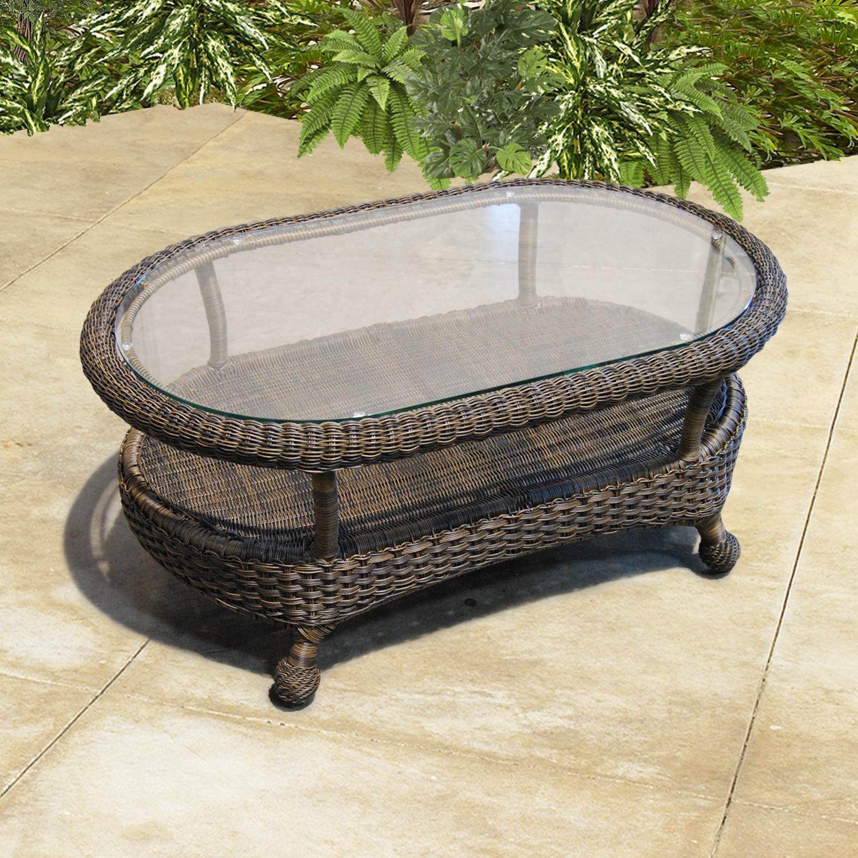 Rattan Coffee Table Dubai: Monaco NC Coffee Table By Chicago Wicker - NCI