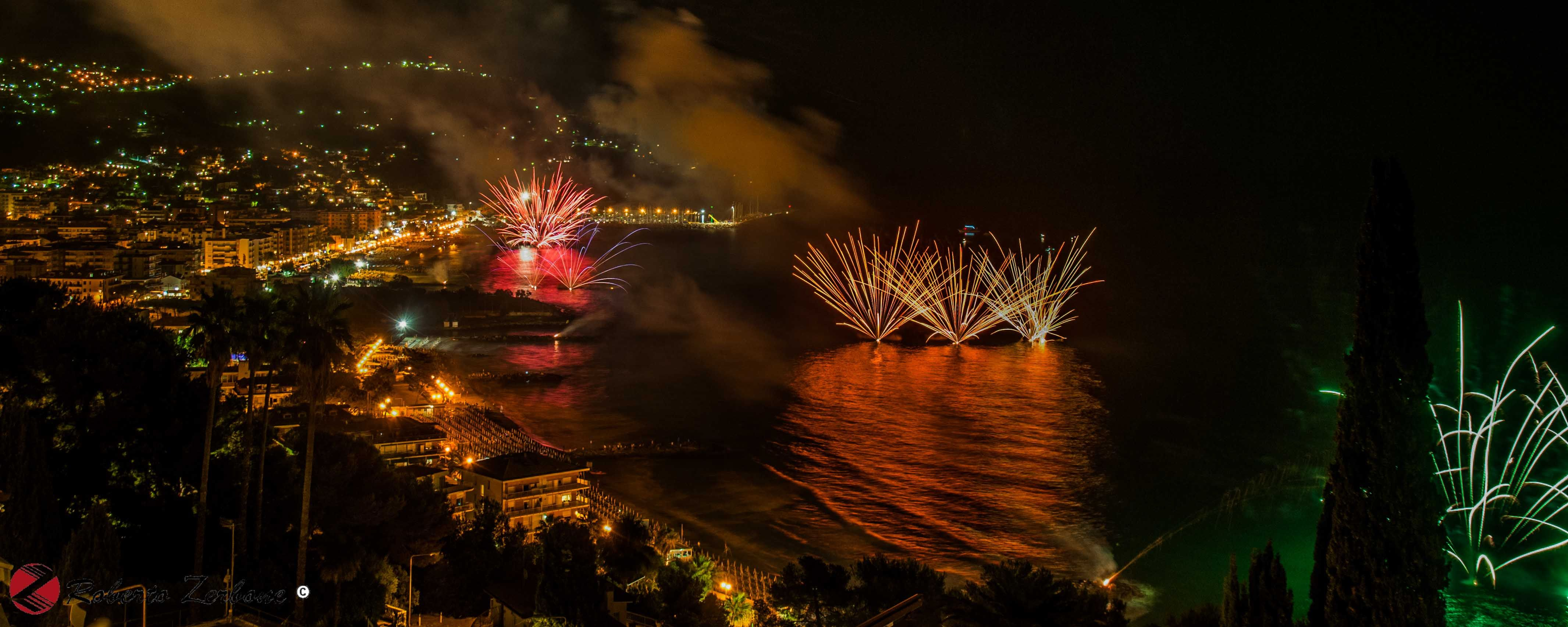 Fuochi D'Artificio 2015 - Andora