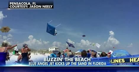 osCurve News: Blue Angels' Epic Fly-By Launches Umbrellas & Tent...