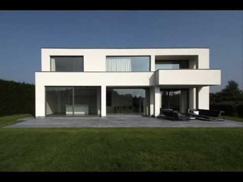 Moderne architectuur met maximaal comfort voor alle seizoenen in lokeren joy houses - Huis modern kubus ...