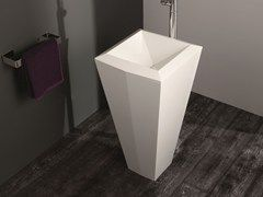 Freestanding Livingtec® washbasin CRYSTAL | Freestanding washbasin - Olympia Ceramica
