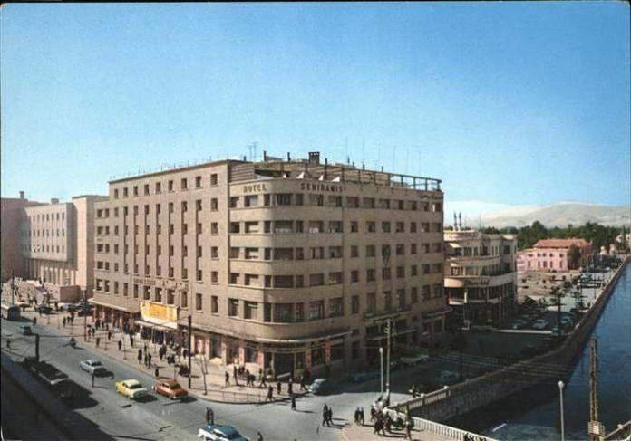 The Semiramis Hotel, Damascus, 1970s.