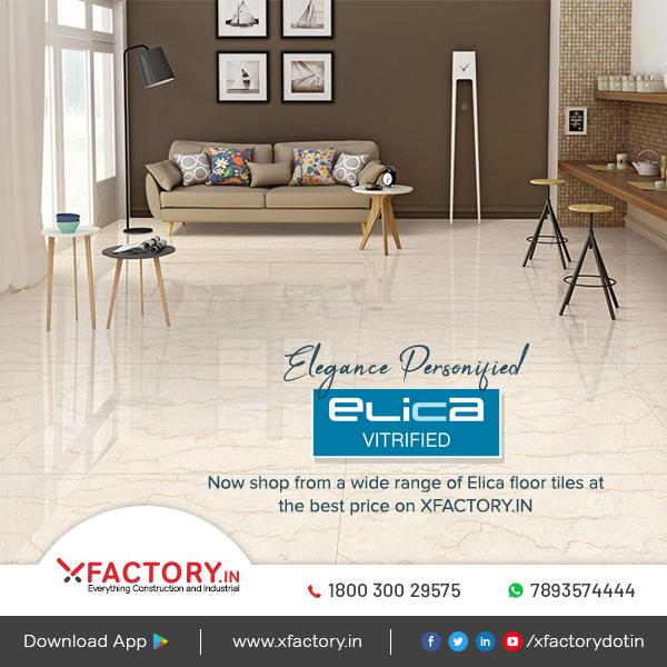 Now shop from the wide range of Elica Floor Tiles online