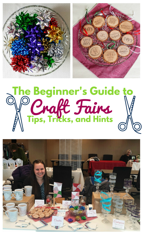The Beginner's Guide to Craft Fairs #craftfairs