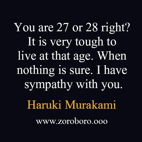Haruki Murakami books, Haruki Murakami Quotes, Haruki ...