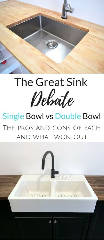 Single Bowl Vs Double Bowl Sink The Great Debate With Images
