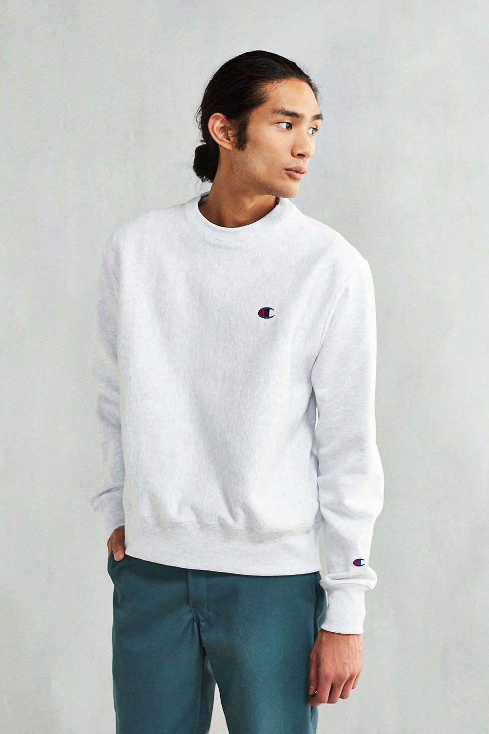 Predownload: Champion Reverse Weave Crew Neck Sweatshirt Sweatshirts Crew Neck Sweatshirt Long Sleeve Tshirt Men [ 1463 x 975 Pixel ]