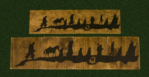 Lord Of The Rings Sign, LOTR, Fellowship, Hobbits