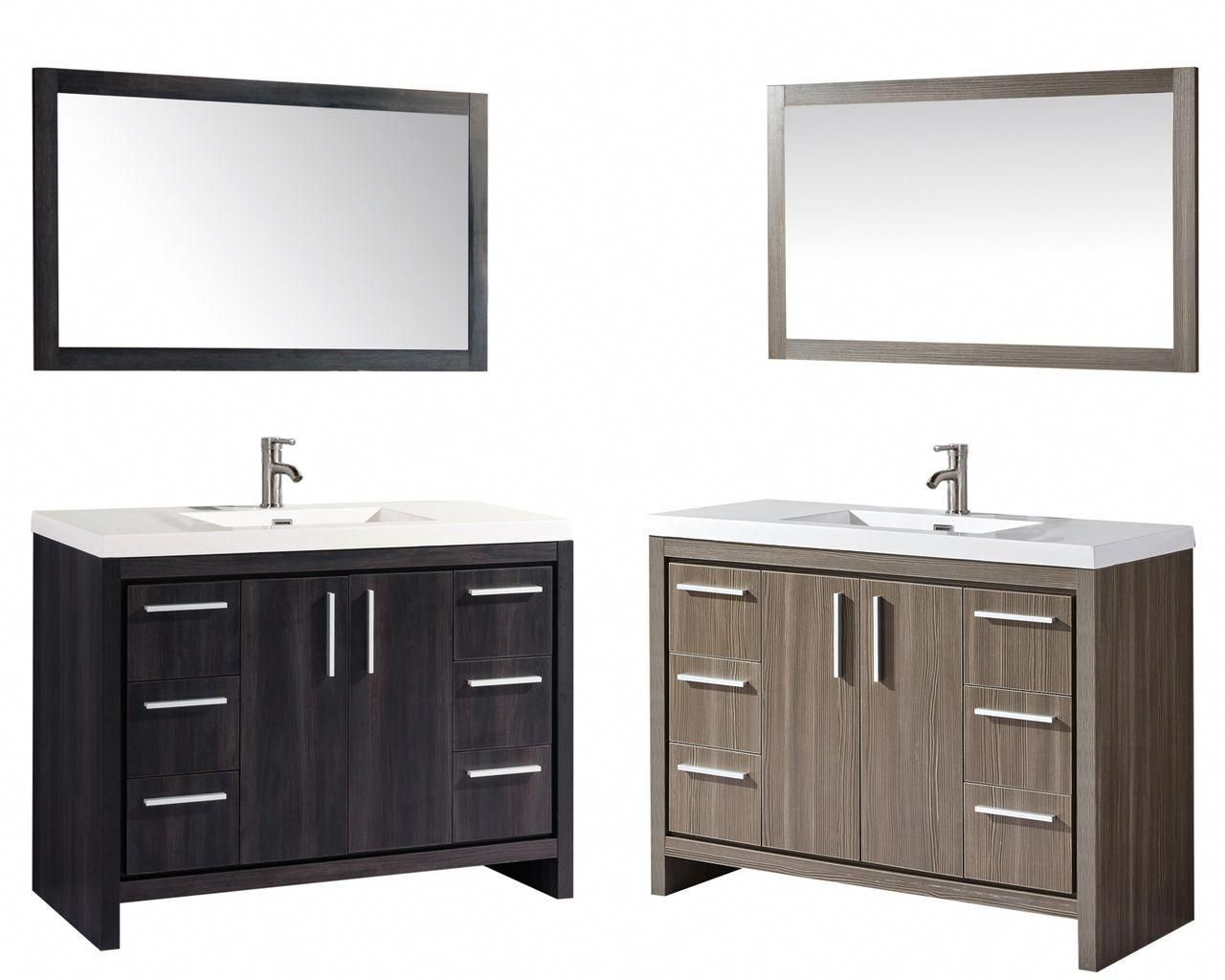 Miami 48 Single Sink Bathroom Vanity Set Mtd Vanities