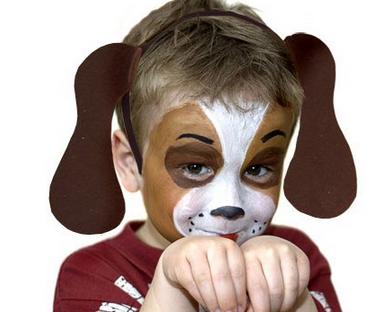 Resultat d'imatges de disfraz de perro casero para niño