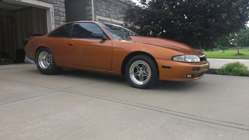 Turbo V8 Swapped 240sx Drag Street Car Price Lowered To 18k For A