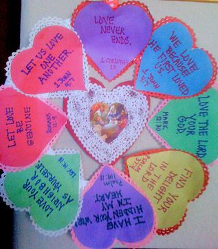 religious st valentines day ideas christian craftsbible - Christian Valentine Crafts