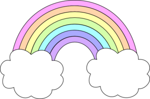 Vector Clip Art Online Royalty Free Public Domain Rainbow Clipart Rainbow Drawing Rainbow Images