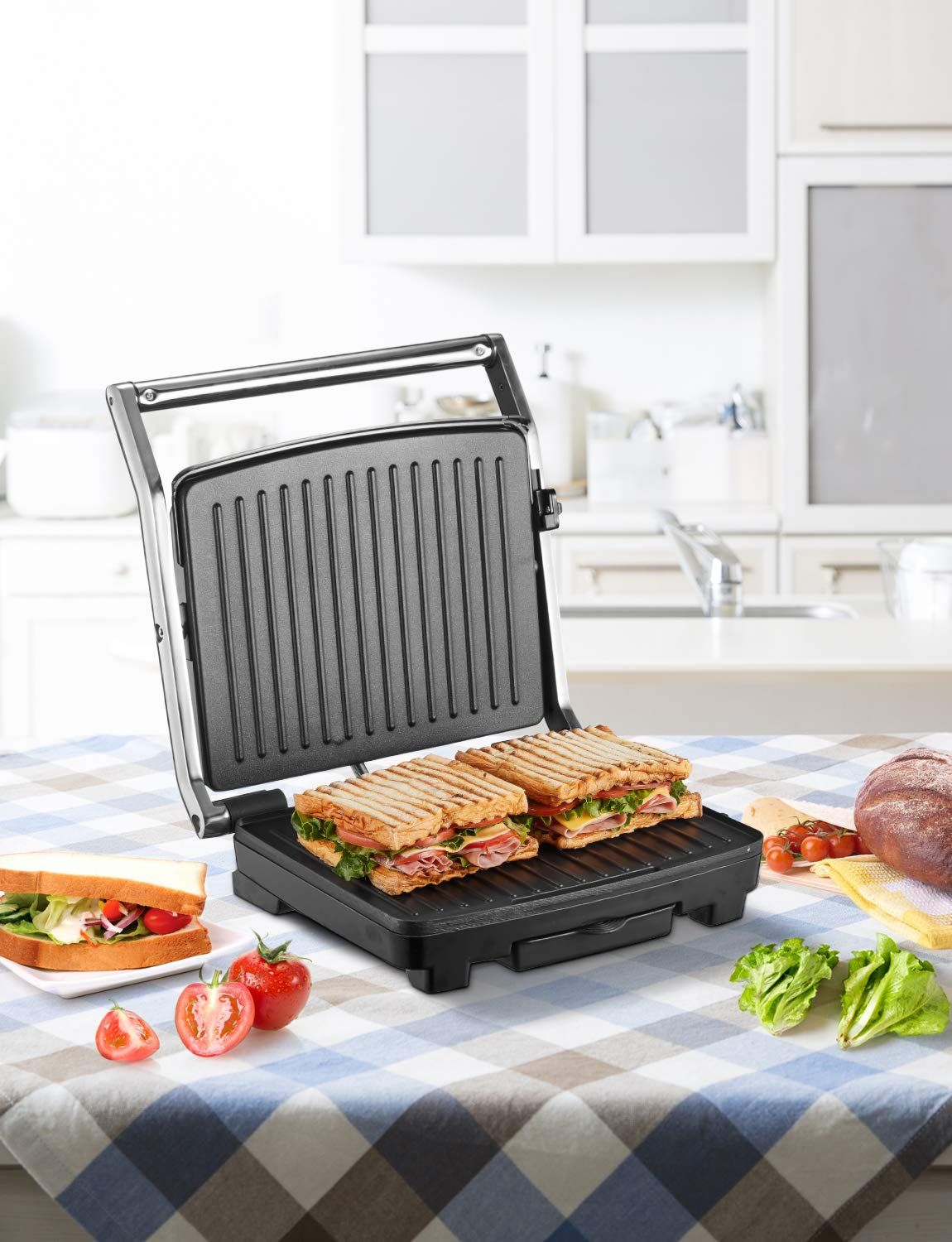 Electric Griddles Kitchen & Dining Cuisinart 5 in 1 Grill