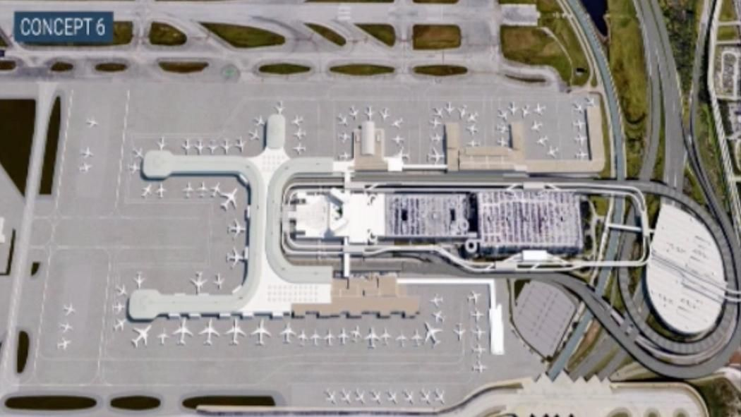 Fort Lauderdale Airport Master Plan Fort Lauderdale Airport Airport Design Airport