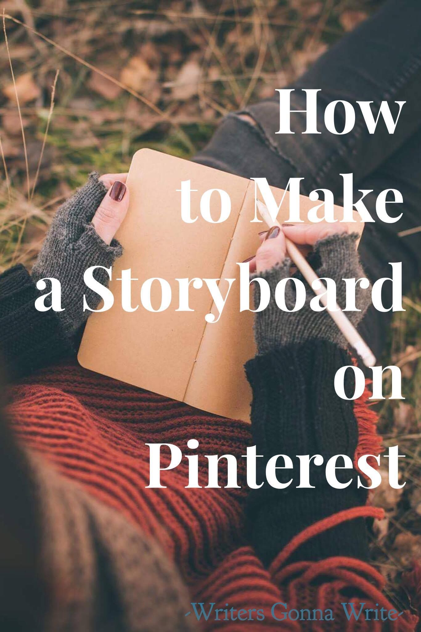 How To Make A Storyboard On Pinterest Storyboard Writing A Book Writing Life [ 2048 x 1366 Pixel ]
