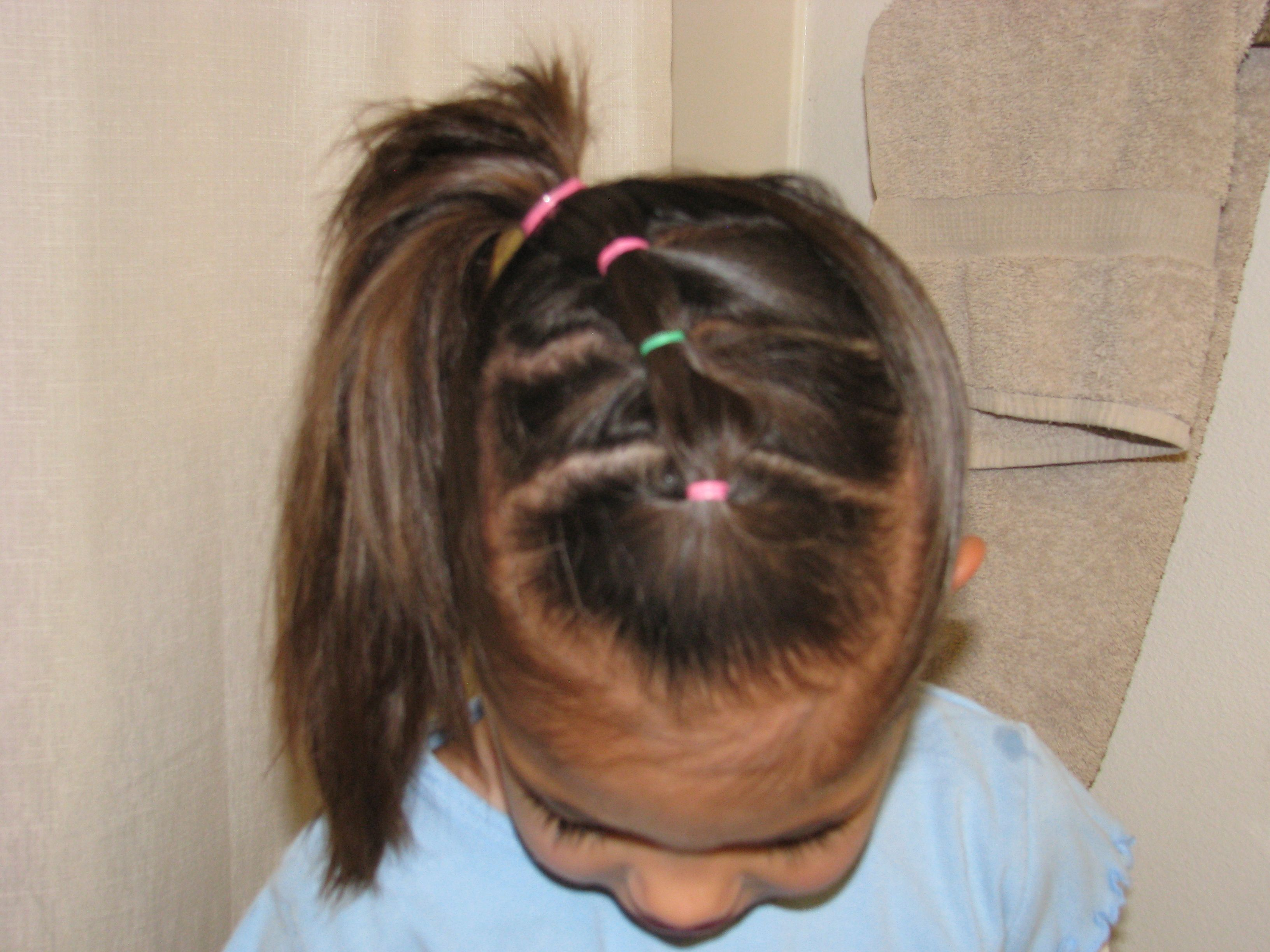Hair styles little girls hair pinterest girl hairstyles girls