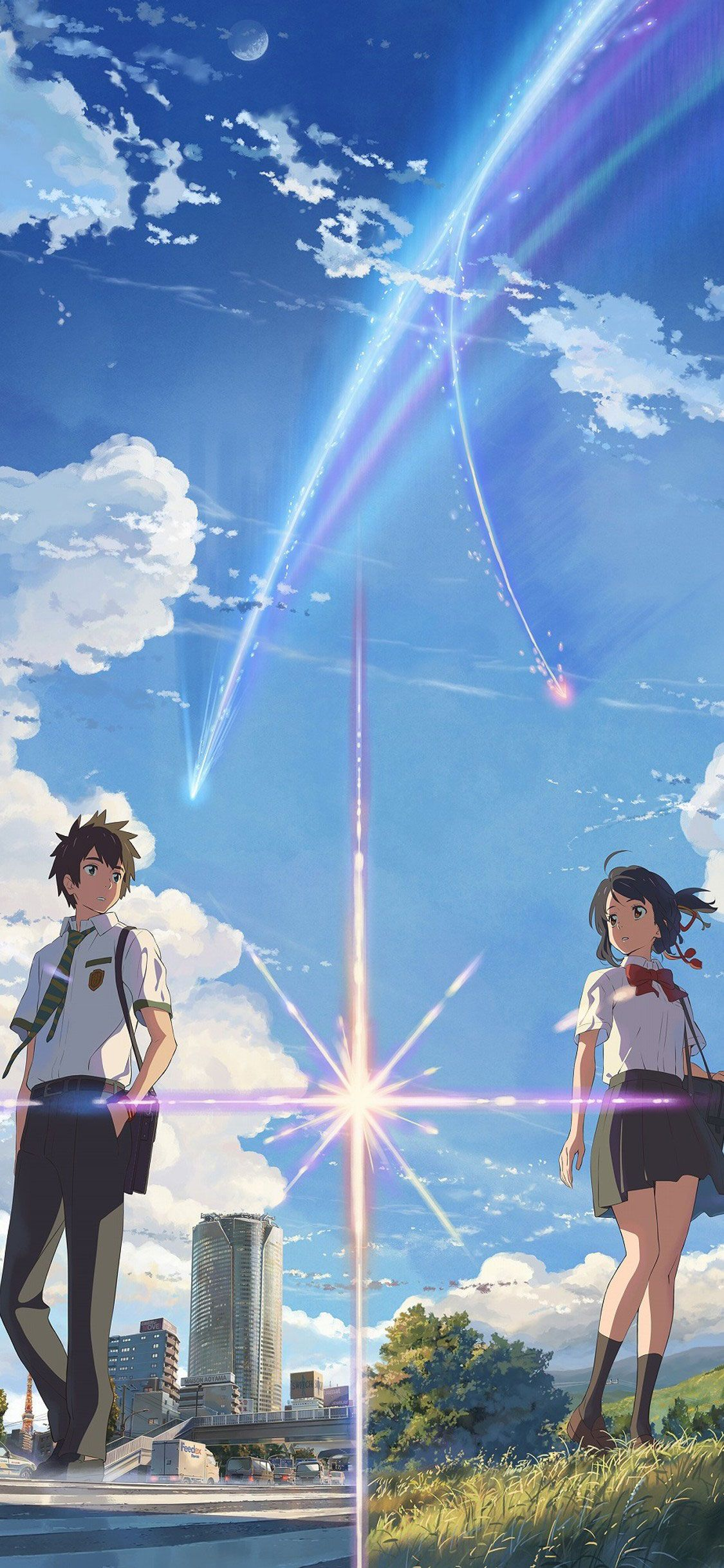 Your Name Wallpaper for iPhone | Anime Background | Anime Wallpaper Aesthetic | iGeeksBlog