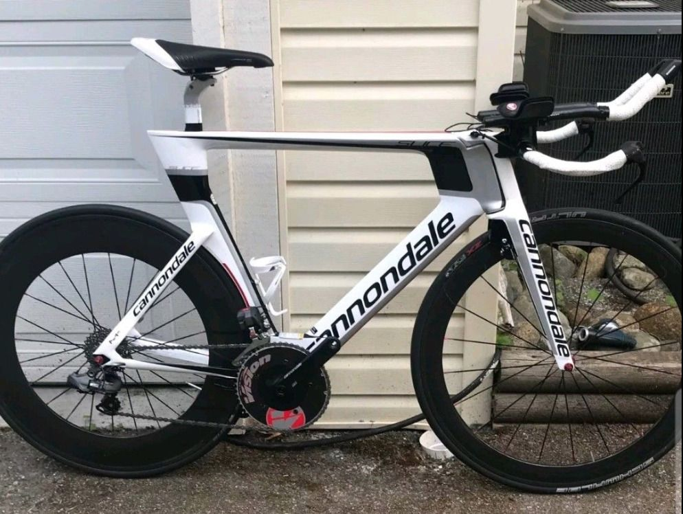 1b0c4ba7aa9 Latest Triathlon Bike For Sales #TriathlonBike #Triathlon #bikes Cannondale  Slice RS Hi-Mod Triathlon Bike Di2 Bar end & Brakes & other Upgrades -  $2999.99 ...