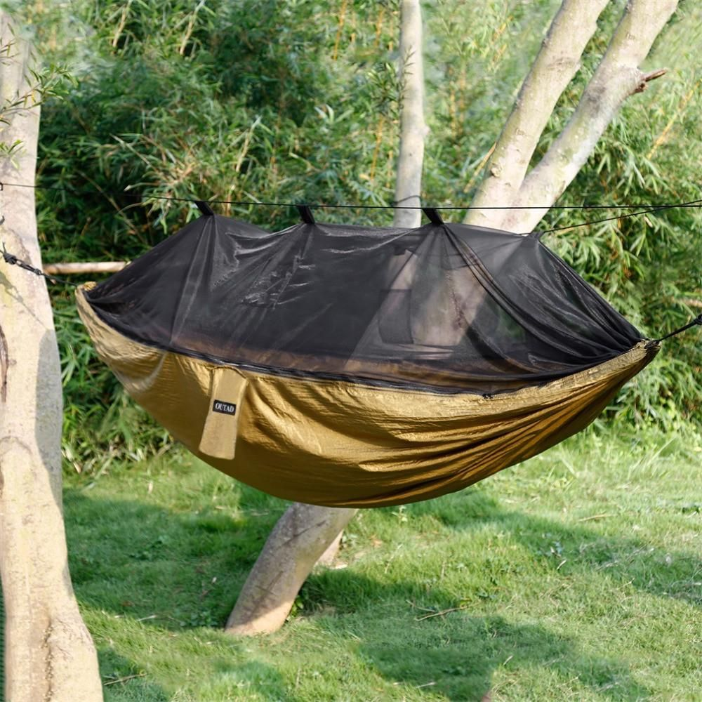 Tent Hammock Outdoor hanging bed, Hammock tent, Hammock