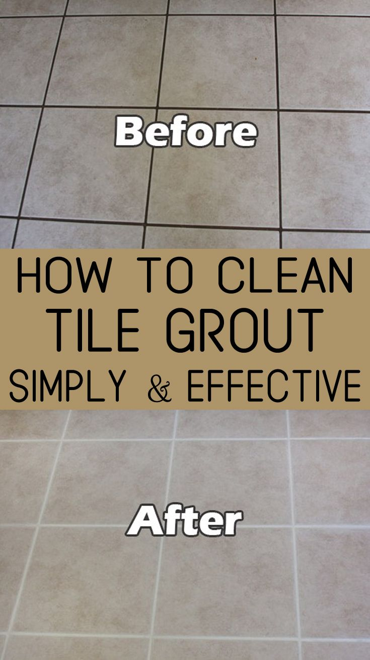 How To Clean Bathroom Tile Grout How To Clean Tile Grout Simply And Effective Cleaning