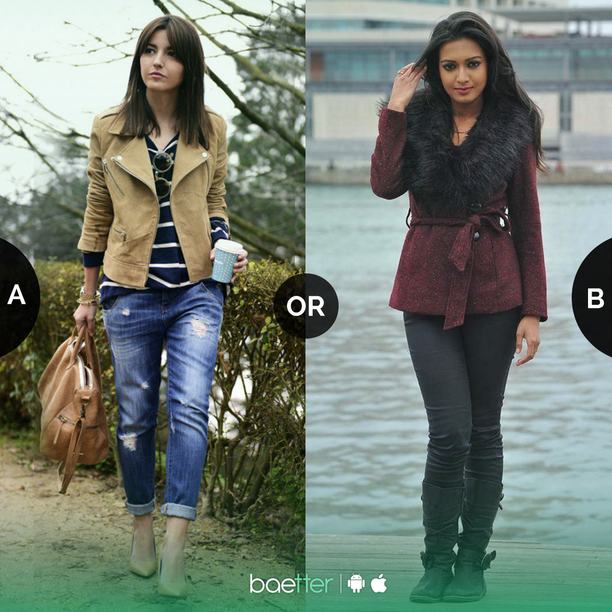 Which of the winter outfits would you like to wear? #coats or ...