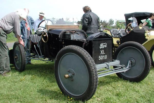 Speedster Model T Ford With No Front Brakes And Disc Wheels
