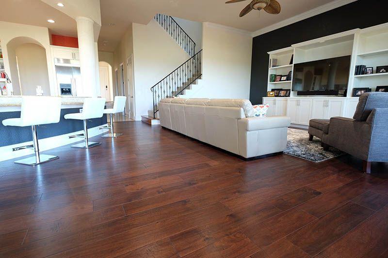 "Acacia 7"" Dark Walnut Engineered hardwood flooring"