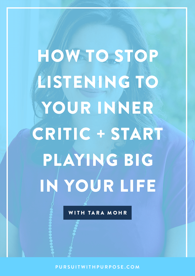 episode 37  how to stop listening to your inner critic