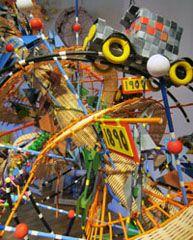 Nathalie Miebach: sculpture. http://nathaliemiebach.com/