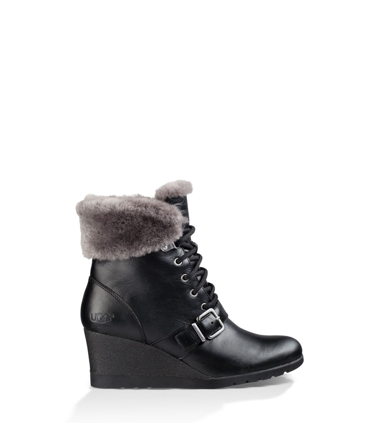 Shop our collection of women's all-weather wedge boots including the Janney.  Free Shipping
